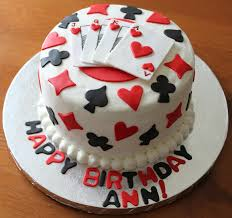 playing card poker casino theme cakes and cupcakes cakes and
