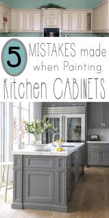 Painting Over Polyurethane Cabinets by Mistakes People Make When Painting Kitchen Cabinets Painted
