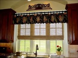 Red Kitchen Curtain by Kitchen Red Kitchen Curtains Valance Patterns Blue Country