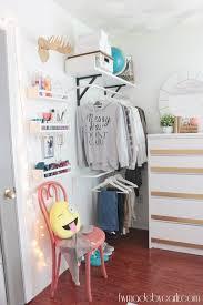 Teen Rooms Pinterest by My Daughter U0027s Room Pre Teen Bedroom Refresh Reveal Open Closet