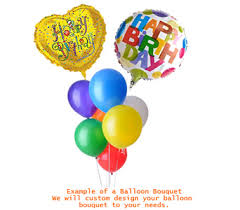 Balloon Bouquets Balloon Bouquets Delivery Calgary Ab All Flowers And Gifts