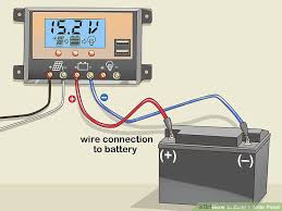 how to build a solar panel with pictures wikihow