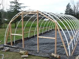 winter gardening series 7 hoop houses small pvc house plans