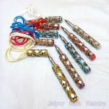 Beaded Home Decor 3 Pieces Rajasthani Handmade Fancy Mirror Beaded Designing Pen