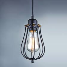 Edison Pendant Light Fixture Cage Pendant Light Fixture Lightings And Lamps Ideas Jmaxmedia Us