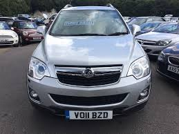 used silver vauxhall antara for sale kent