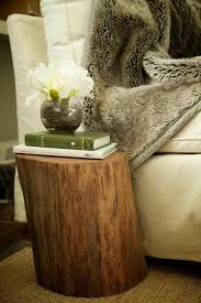 how to make a tree trunk table snapguide