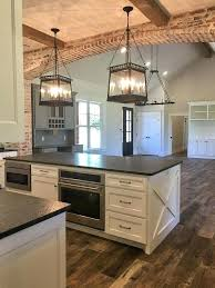 decorating kitchen islands farmhouse style lighting kitchen islands and island for 17