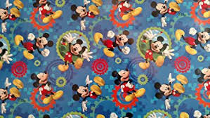 wrap wrapping paper disney hallmark mickey mouse clubhouse gift wrap