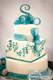 best 25 teal cake ideas on pinterest floral cake flower cakes
