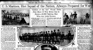 Marines Holding Flag Stevenwarran Research Smedley D Butler 1900 1919