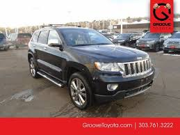 used 2011 jeep grand overland for sale denver co g5011454a