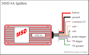 100 wiring diagram for msd distributor msd pro billet