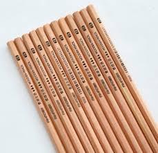 amazon com ganssia natural design pencil 2b wood pencils pack of