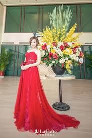 L舖sige Kurzhaarfrisuren 2017 文定這天 許多新娘都選擇了喜氣的紅色 晚禮服 不僅視覺上搶眼 長輩