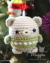 muggles free muggles amigurumi baby ornament