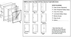 Cabinet Door Dimensions Kitchen Cabi Door Size Chart Style By Modernstork