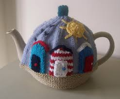 Cosy Sunny Seaside Tea Cosy Knitting Pattern By Buzybee Knitting