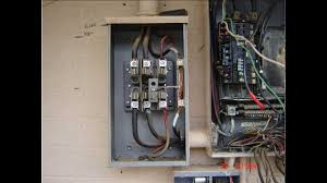 residential 3 phase meter panel combo revisited youtube