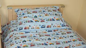 Cot Bed Duvet Cover Boys Cars Vehicle Police Fire Cot Bed Junior Duvet Cover U0026 Pillowcase