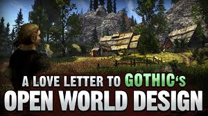Sad Love Letters To Him A Love Letter To Gothic U0027s Open World Design Youtube