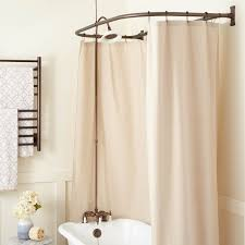 mount clawfoot tub shower kit d style shower ring clawfoot
