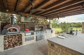 cuisine d été design exterieur cuisine été extérieure moderne four grill