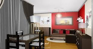 chambre de sejour chambre romantique et séjour asiatique mh deco