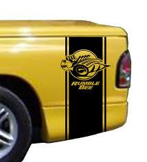 Dodge Ram Truck 4 Door - product rumble bee bed stripe kit fits dodge ram truck vinyl