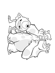 coloring monsters coloring pages 13