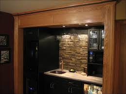 kitchen faux brick tile backsplash stacked stone kitchen