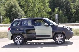 jeep mini vwvortex com fiat jeep baby suv test mule spied
