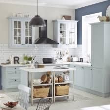 meubles cuisines leroy merlin meuble de cuisine bleu delinia ashford leroy merlin