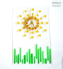 Shopping Online For Home Decor Buy Spring Clock Stylish Clock Minimalism Glass Wall Clock