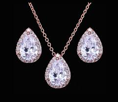 cubic zirconia necklace sets images Wedding bridal jewelry designer jewelry adora by simona jpg