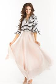 maxi skirt amelia pink maxi skirt morning lavender