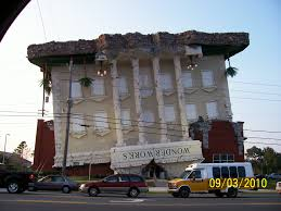 panama city beach upside down house beach house style upside down building wonder works panama city florida