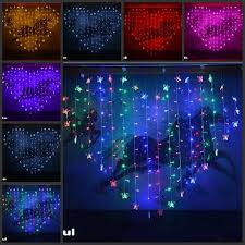 cheap butterfly heart shaped colorful led lights string with