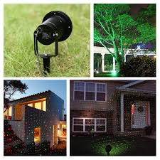 Christmas Laser Projector Lights by Led Waterproof Laser Projector Static Firefly Garden Landscape