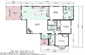 3 bedroom floor plan f 5039 hawks homes manufactured