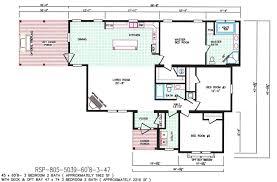 wide open floor plans 3 bedroom floor plan f 5039 hawks homes manufactured