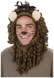 the cowardly lion s makeup included mugeek vidalondon