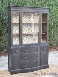 antique hutch with glass doors portfolio general finishes vintage china cabinets and china
