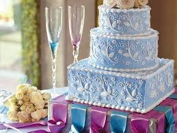 fancy wedding cakes wedding cakes myrecipes