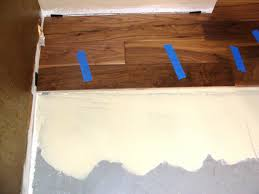 Laminate Floor Adhesive Installing Hardwood Flooring Over Concrete How Tos Diy