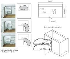 dimension meuble d angle cuisine résultat de recherche d images pour plan meuble d angle vu du