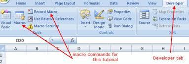 tutorial excel basic excel macro tutorial