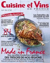 abonnement cuisine et vins de chapcom catalogue