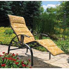 Outdoor Reclining Chaise Lounge Homecrest Holly Hill Sling Comfort Recliner Chaise Lounge Chair