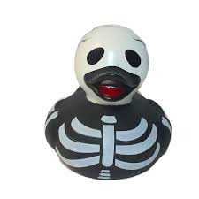 spooky skeleton png the skeleton rubber duck is spooky skull and rib bones ready for